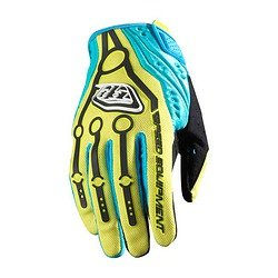 Buy Low Price Troy Lee SE Full Finger Gloves Yellow Xlarge (B00634MLJ0)