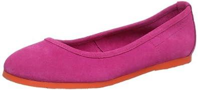 Esprit Q10380, Ballerines femme - Rouge (Fuchsia 511), 39 EU
