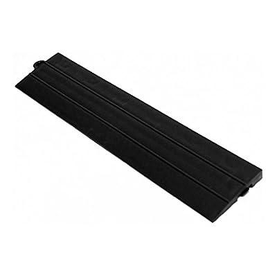 Speedway Garage Tile M789453B Garage Floor Male Ramp Edges without Loops, Black by Speedway Garage Tile Mfg