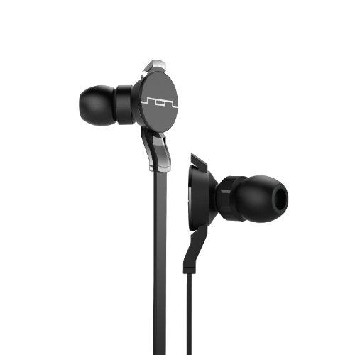 Sol Republic 1161-31 Amps Hd In-Ear Headphones With Free Ear Tips For Life - Black