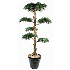 Gd bo balcons podocarpus wolkenbaum kunstpflanze 210 cm for Gd bo balcons