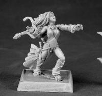 Reaper Miniatures 60009 Pathfinder Series Seoni, Iconic Female Sorceress Miniature