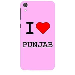 Skin4gadgets I love Punjab Colour - Light Pink Phone Skin for HTC DESIRE 820