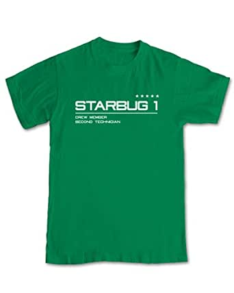 Red Dwarf 'Starbug 1' Uniform T-shirt (M - Medium)