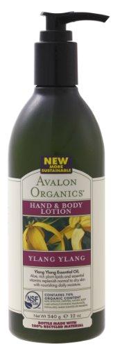 AVALON ORGANICS アバロンオーガニクス hand - 0 - body lotion ylang ylang 340 g