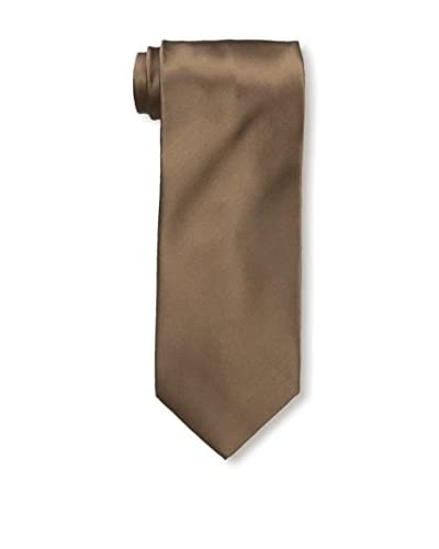 Valentino Men's Silk Tie, Light Brown