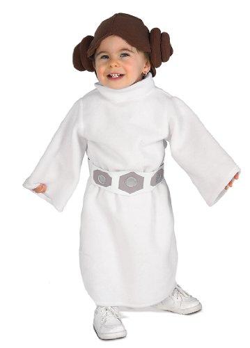 Star Wars Princess Leia Costume, White, Toddler