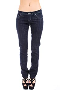 Cotton Farm Jeans in Dark Denim