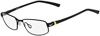 Nike Optical Black/volt Titanium Eyeglasses Frames