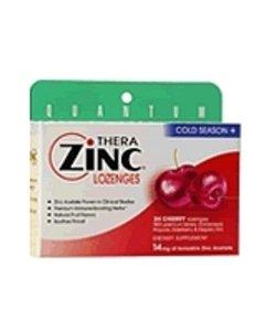 Quantum - Cold Season Plus + Zinc Cherry, 14 Mg, 24 Lozenges