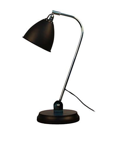 Lo+deModa Lámpara De Mesa Bell Matt Negro