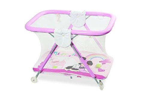 Primi Sogni 270/MIN Holiday Safe&Fun Box con Tappeto Gioco, Rosa