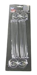 Baltimore Ravens Drink Stirrers - Swizzle Sticks - Stir Sticks - 8 pc.
