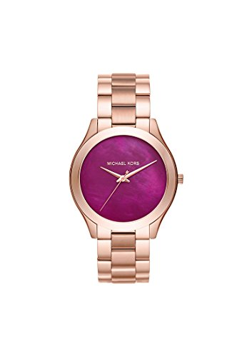 michael-kors-damen-armbanduhr-analog-quarz-one-size-rot-rose-rot