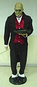 Gemmy Halloween Animated Life Size Butler