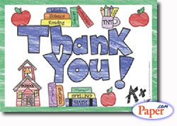 Buy THANK YOU POSTCARDS