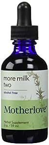 Motherlove Herbal Company More Milk Two Alcohol Free 2 oz liquid (Motherlove)