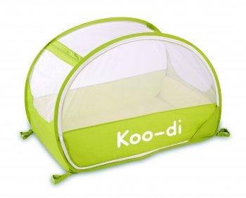 Koo Di Pop-Up Bubble Travel Cot Finish: Lemon and Lime