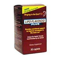 Lipoflavonoid Plus Caplets To Improve Inner Ear Circulation - 30 Caplets