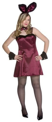 Cocktail Hunny Burgundy Plus-Size Adult Halloween Costume Size 14-20