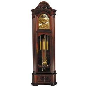 ACME 01417 Marc Corner Grandfather Clock, Cherry Finish