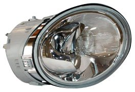 TYC 20-5445-00 Volkswagen Beetle Passenger Side Headlight Assembly (2001 Beetle Headlight Cover compare prices)