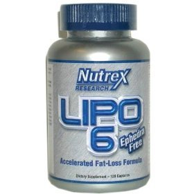 Nutrex Research Lipo 6 Accelerated Fat-Loss Formula, Liquid Capsules, 120-Count