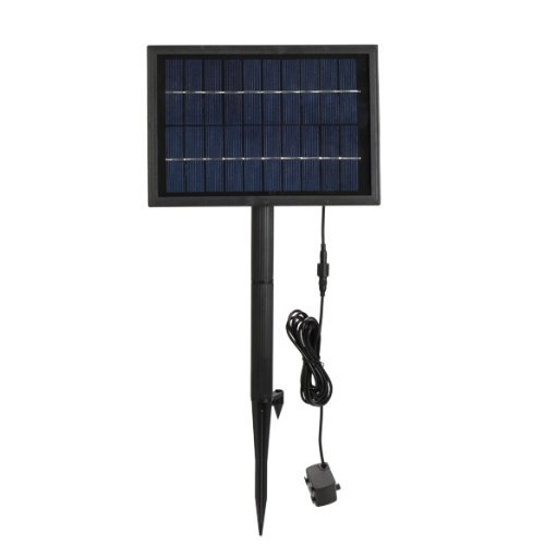 Best Review Of Bestope Solar Power Fountain Pond Brushless Water Pump with 1500mA Storage Battery