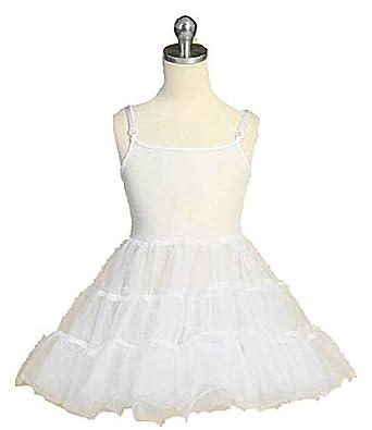 Amazon.com: Girls Petticoat Full Slip: Apparel Slips: Clothing