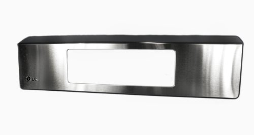 Lg Electronics Agm73590301 Gas Range Top Front Panel, Stainless Steel front-12097