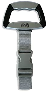 EatSmart Precision Voyager Digital Luggage Scale with SmartGrip