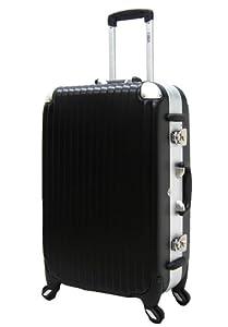 CARGO・TSAロータリーロックスーツケース71.5cm ブラックTWTSA29