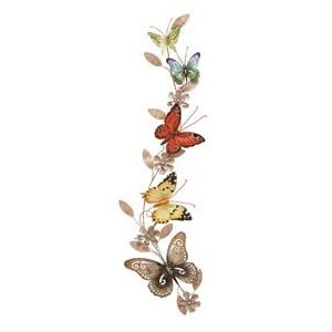 Corinthian Butterfly Metal Wall Art Decor Sculpture