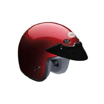 Best Bell Powersports 2011 R/T Street Open-Face Helmet - Candy Red (XS) With Low Price.