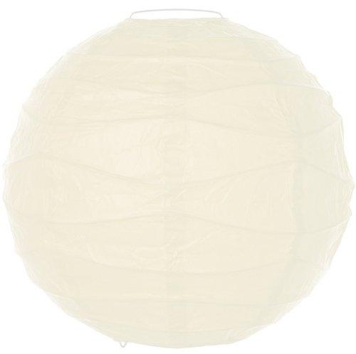 Boule Japonaise déco 30cm, blanc