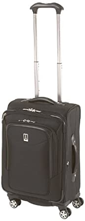 Travelpro Luggage Platinum Magna 21 Inch Expandable Spinner Suiter, Black, One Size