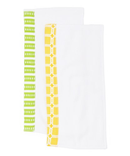 Organically Cute Burp Cloths, Taylor, 0-12 Months