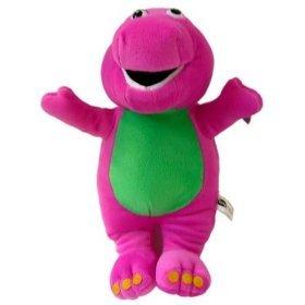 Amazon Com My Dinosaur Pal Barney Purple Plush Doll Big