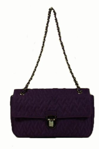 Prada Handbags Purple Tessuto Impuntu BR4611 (Daily or for Evening Bags)