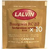 Bourgovin RC-212 (10 Packs) Wine Yeast