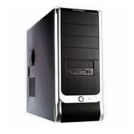 New Coolermaster Case Rc-330-Kkr1 Atx Mid Tower 4/2/(5) Tool-Free 120mm Rear Fan 350w P/S Black