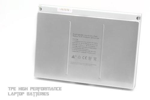 TPE� [Aluminum Centre &-12-Months Warranty] New 9-cell Laptop Battery for Apple Macbook pro 17-Inch series A1189 A1151 [Li-Polymer 6300mAh]