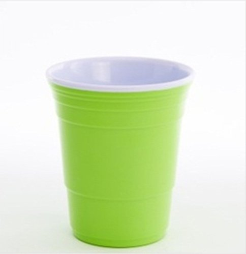 Red Cup Living Reusable 18 Ounce Cup Neon Green