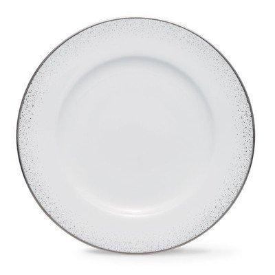Noritake Alana Platinum Salad/Dessert Plate, 8-1/2-inch by Noritake