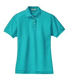 Port Authority Ladies Pique Sport Shirt (L420) Available in 24 Colors X-Large Turquoise