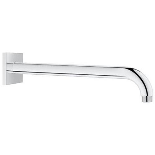 Yow- 12 In. Wall Arm Square In Starlight Chrome Grohe Faucet front-610595