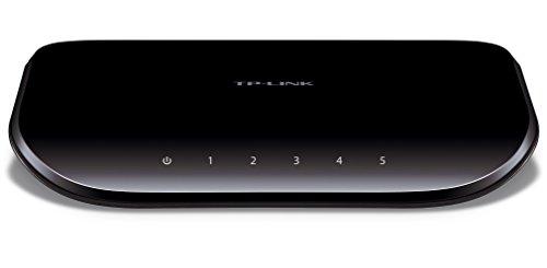 TP-LINK Giga対応10/100/1000Mbp 5ポートスイッチングハブ10Gbpsキャパシティープラスチック筺体 TL-SG1005D