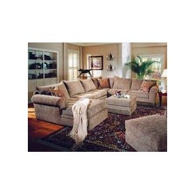 Coaster Chenille Pillow Top Ottoman Coffee Table in Beige