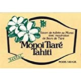 Monoi Tiare Tahiti, Coconut Oil Toilet Soap, Sandalwood, 4.55 oz (130 g)