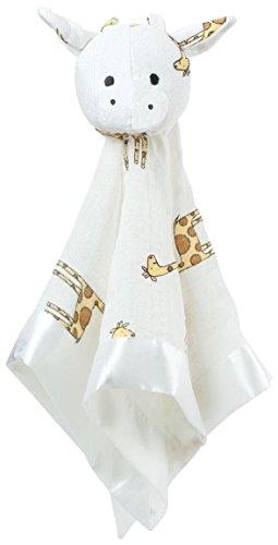 aden + anais Musy Mate Lovey Nursery Blanket, Jungle Jam Giraffe/Cow